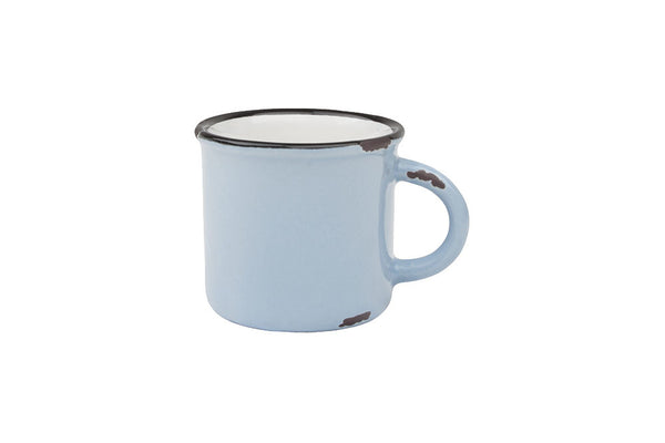 Canvas Home Tinware Espresso Mug - Light Blue
