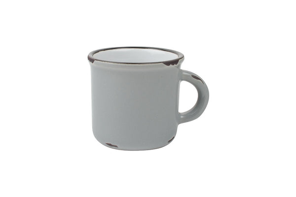 Canvas Home Tinware Espresso Mug - Light Grey