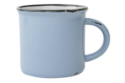 Canvas Home Large Tinware Mug - Pale Blue