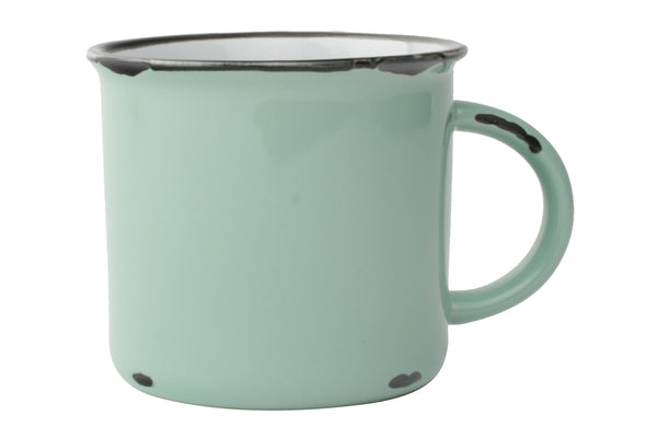 Canvas Home Large Tinware Mug - Light Green