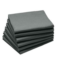 Coucke Plain Cotton Napkin - Anthracite