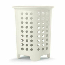 Melamine Cutlery Drainer and Utensil Holder - Cream