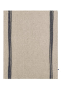 Coucke French Washed Linen Teatowel - Grey