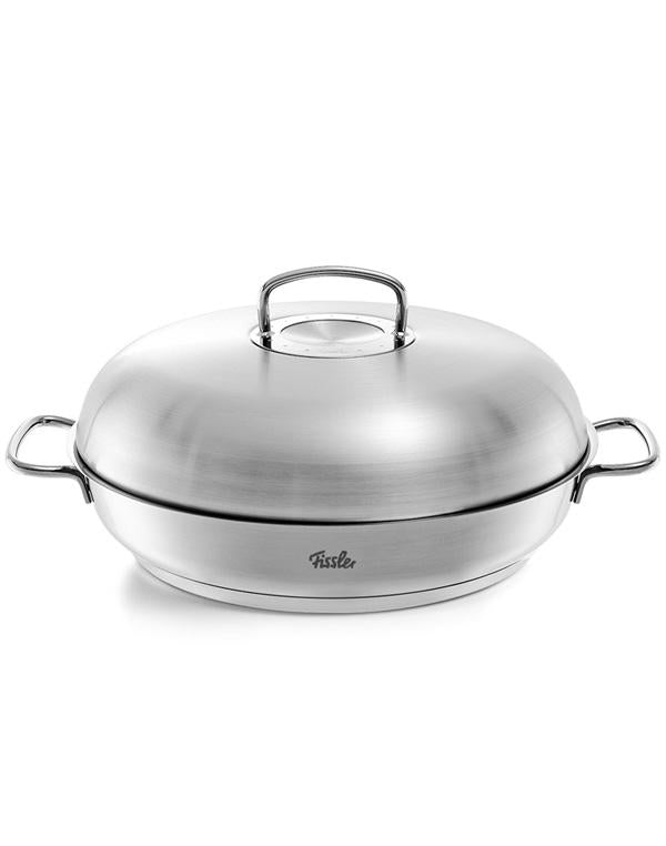 Fissler Profi Serving Pan and Lid 32cm — Divertimenti