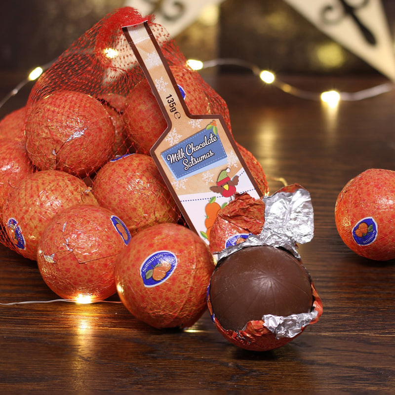 Milk Chocolate Satsumas