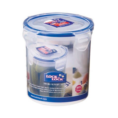 Lock & Lock Tall Round Container - 700ml