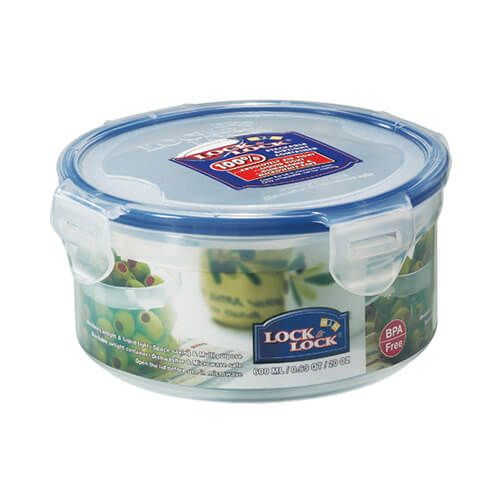 Lock & Lock Round Container - 600ml