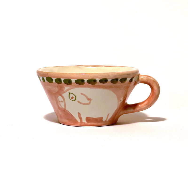 Amalfi Conical Cup - Cortile Pink