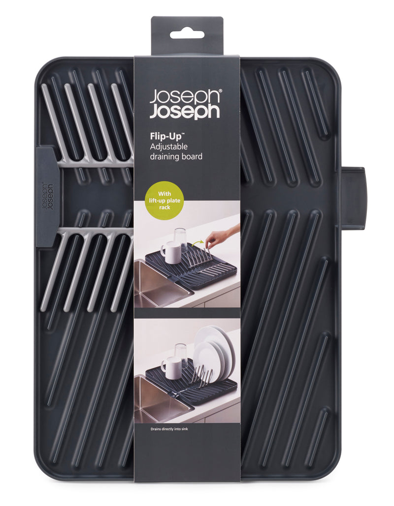 Joseph Joseph 'Flip Up' Draining Board – Grey