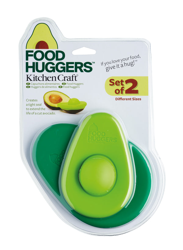 Food Huggers Silicone Avocado Savers – Pack of 2