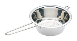 KitchenCraft Stainless Steel Long-Handled Colander - 20cm