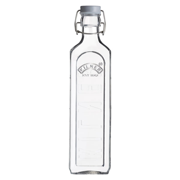 Kilner Clip Top Bottle with Measurements - 1l