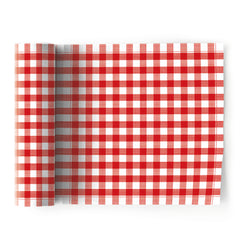 My Drap 12 Piece Cotton Napkin Roll - Gingham