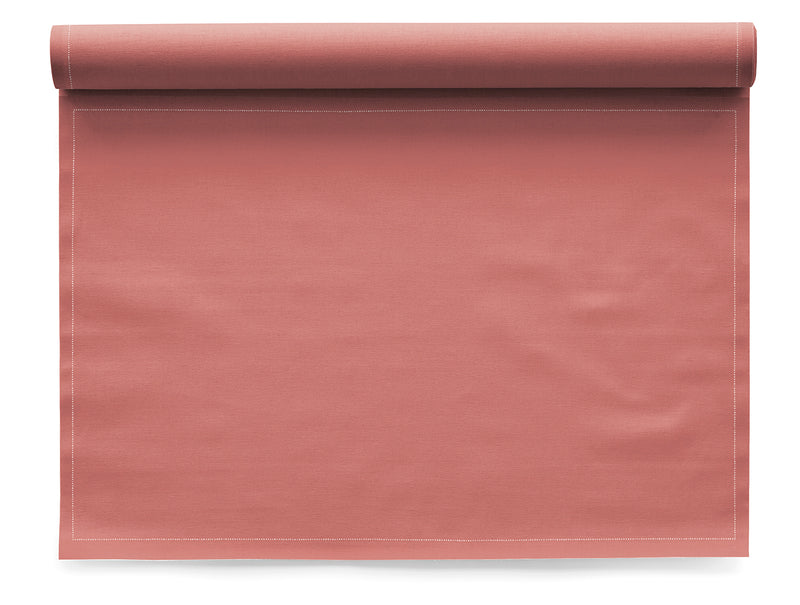 My Drap 12 Piece Cotton Placemat Roll - Dusty Pink