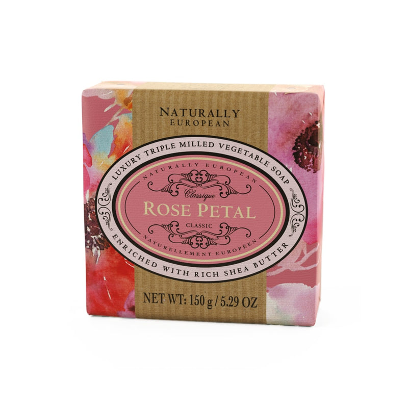 The Somerset Toiletry Company Luxury 150g Natural Soap Bar - Rose