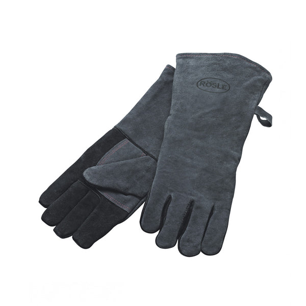 Rösle Leather BBQ Gloves