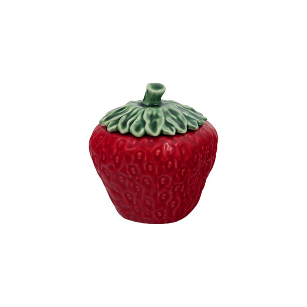 Bordallo Pinheiro Strawberry Covered Bowl