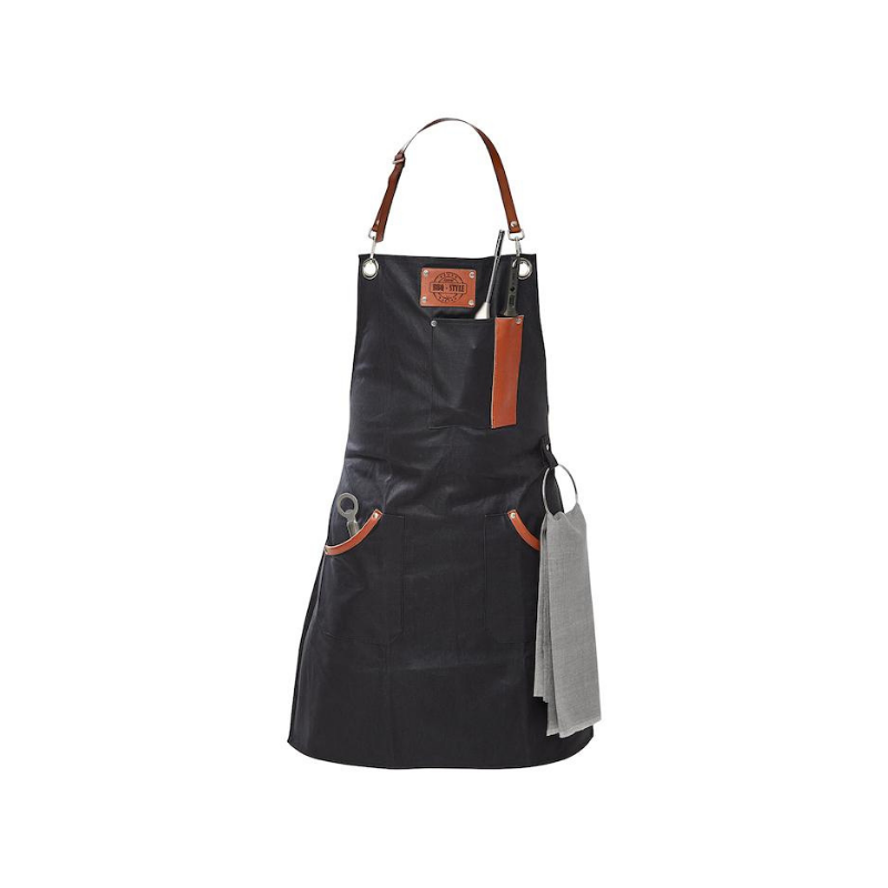 Gefu BBQ Waxed Cotton Apron