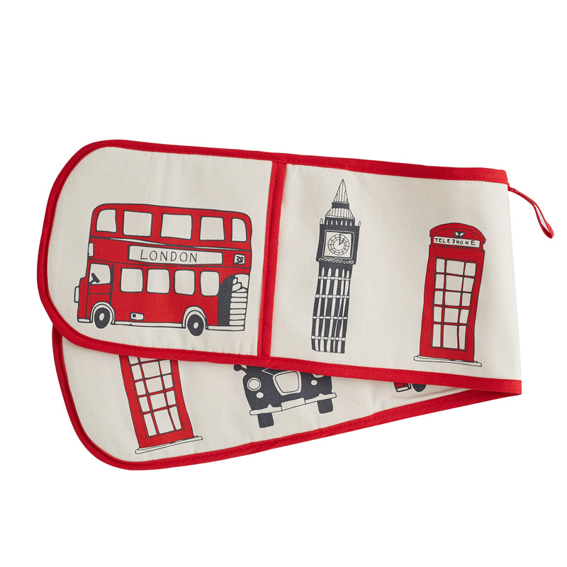Victoria Eggs London Skyline Oven Glove