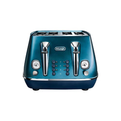 De'Longhi Distinta Flair 4-Slice Toaster – Silver