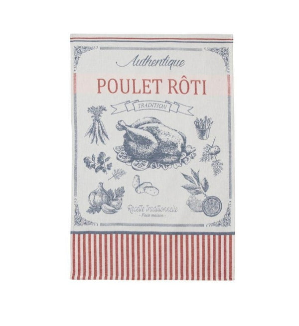 Coucke Jacquard Kitchen Towel - Chicken