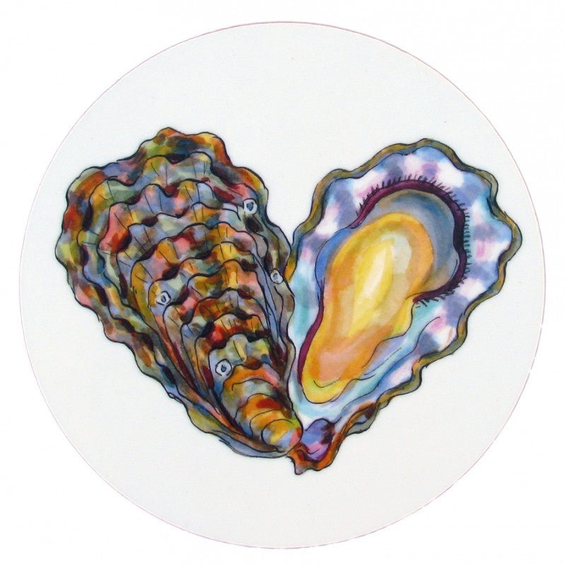 Richard Bramble Coaster - Oysters