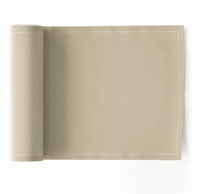 My Drap 24 Piece Cotton Napkin Roll - Sand
