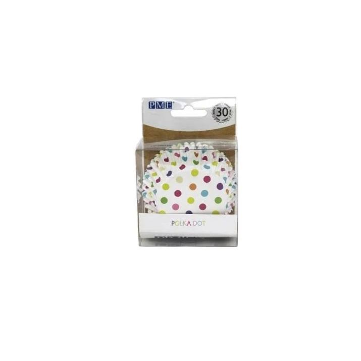 Foil-lined Cupcake Cases – Pack of 30