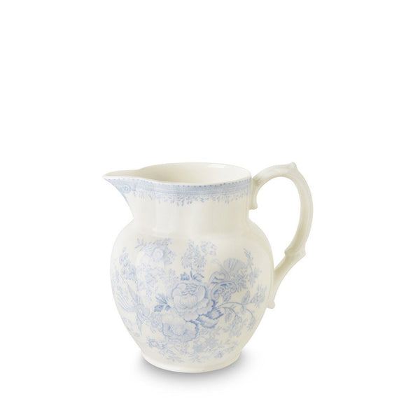 Burleigh Small Etruscan Jug Blue Asiatic Pheasant