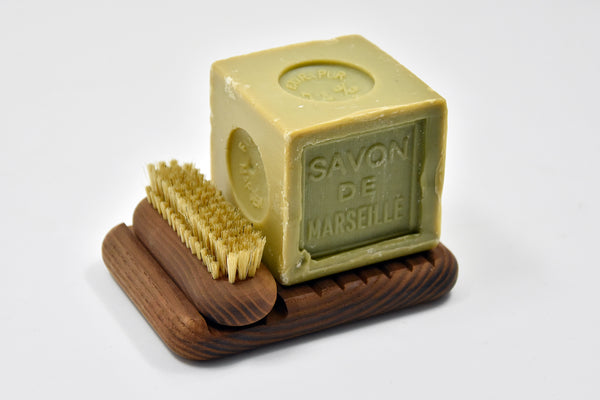 Andrée Jardin Marseille Soap & Brush Set - Dark Ash