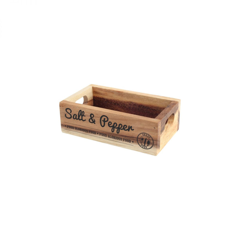 T&G Salt & Pepper Mill Storage Crate