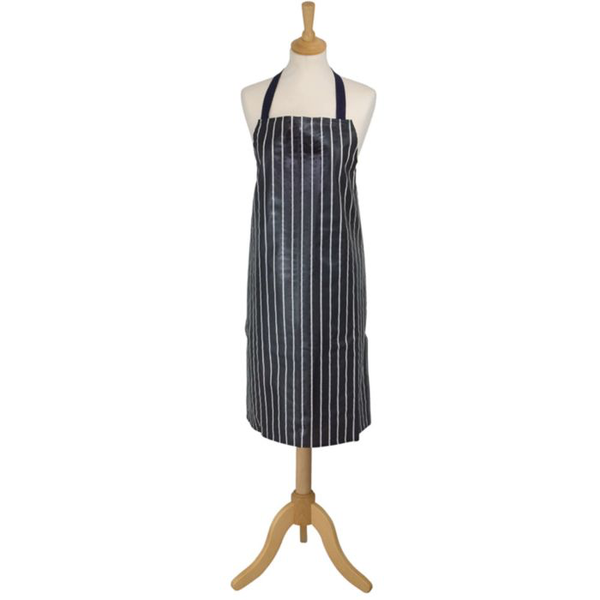 PVC Apron in Traditional Butcher's Stripe