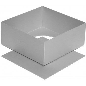 Silverwood Square Loose Base Cake Tin - 20cm