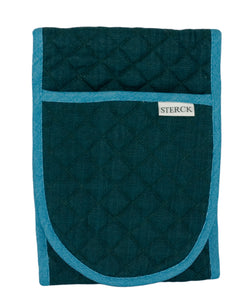 Sterck Double Oven Glove - Green & Blue