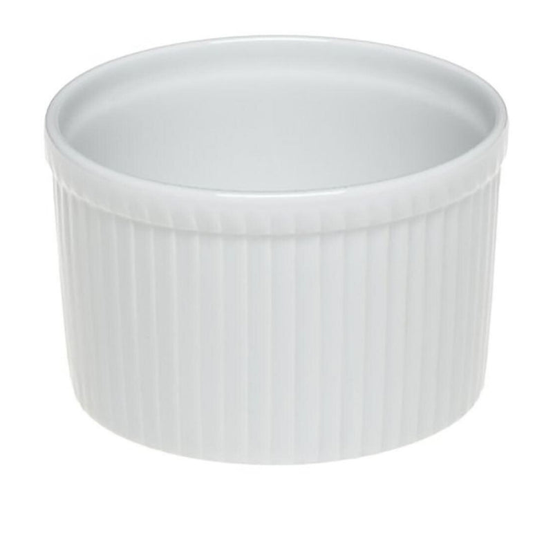 Pillivuyt Classic Extra Deep Pleated Souffle Dish - 2.7L
