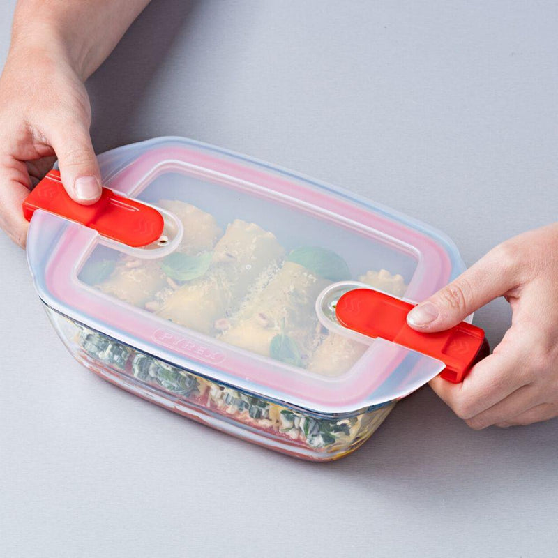 Pyrex 'Cook & Heat' Roaster with Vented Lid - 28 x 20cm