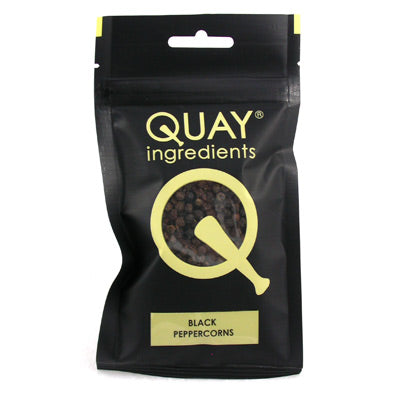 Quay Ingredients Whole Black Peppercorns - 60g