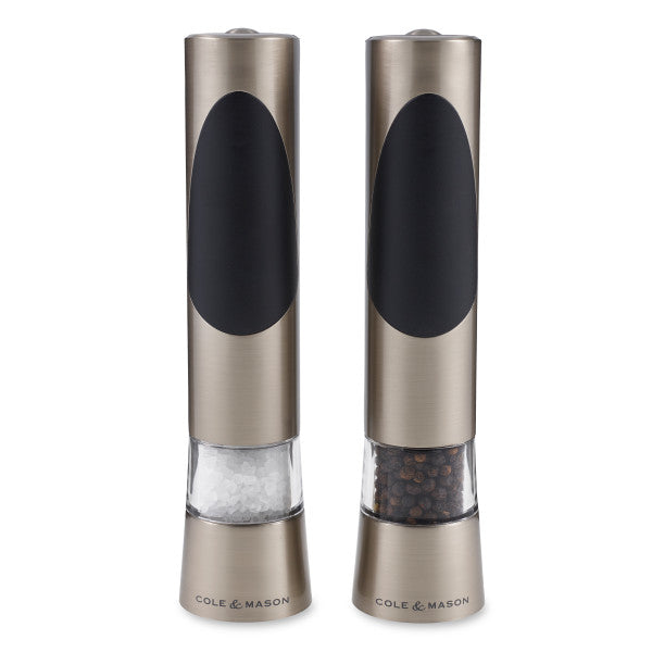 Cole & Mason Electronic Salt & Pepper Mill Gift Set