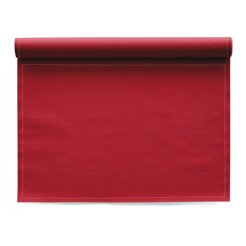 My Drap 12 Piece Cotton Placemat Roll - Lipstick