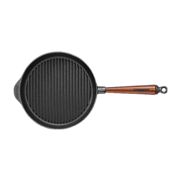 Skeppshult Cast Iron Grill Pan 28cm