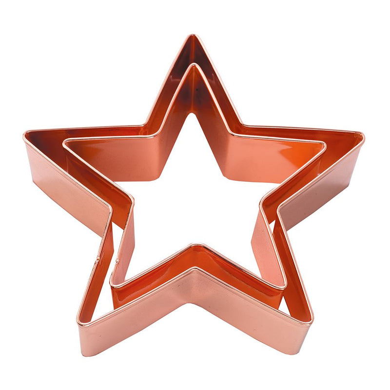 Copper Cookie Cutters (set of 2)