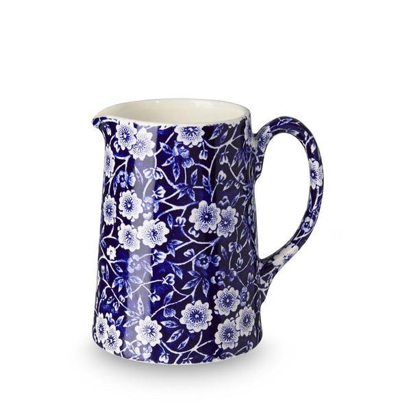 Burleigh Mini Tankard Jug Blue Calico