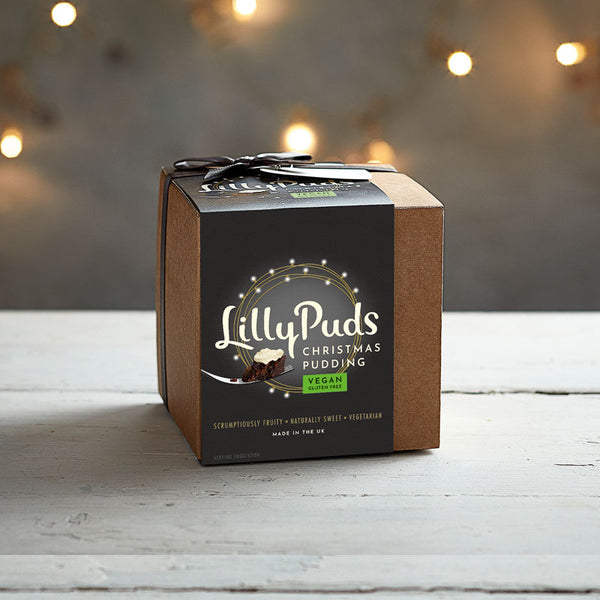 Christmas Pudding Lilly Puds