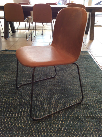 dining chair Clove tan leather