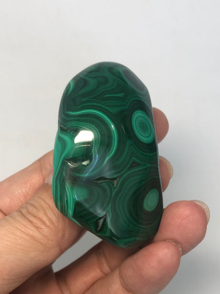 Malachite Polished Raw Crystals 100g