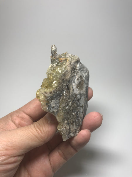 Yellow Fluorite from Spain 102g
