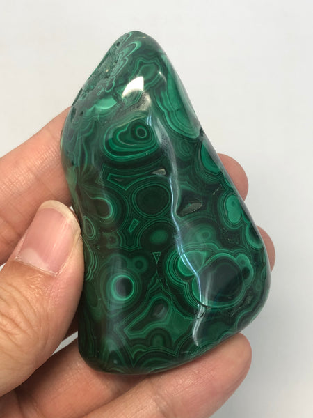 Malachite Polished Raw Crystals 111g