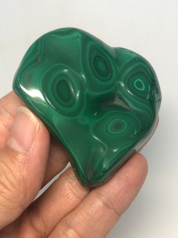 Malachite Polished Raw Crystals 114g
