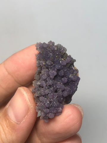 Grape Agate Raw Crystals 11g