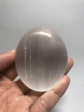 Selenite Palm Stones 120g